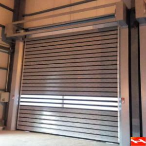 High Security Hard Metal Rolling Shutter Door pictures & photos