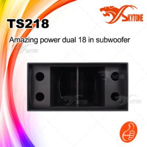 "Ts218 Dual 18"" Speakers Subwoofer Speaker Box pictures & photos"