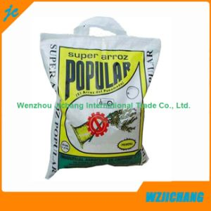 Best Package Plastic Packing Manufacturer Die Cut Handle PP Woven Bag pictures & photos