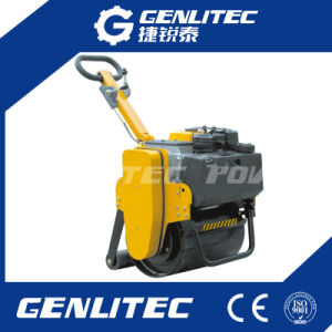 Small Hand Single Drum Gasoline Roller Compactor pictures & photos