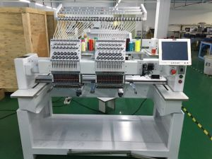 High Speed 2 Head 3D Embroidery Machines for Cap pictures & photos