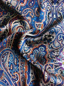 Beautiful Chiffon Blouse Fabric 100% Polyester Printed Chiffon Evening Dress Fabric pictures & photos