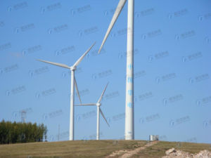 Durable Galvanized Steel Wind Power Tower pictures & photos