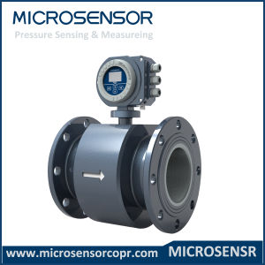 Flange Type Electromagnetic Flow Meter Mfe600 pictures & photos