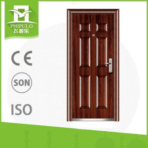 2017morden Wrought Iron Entry Door From China Factory pictures & photos