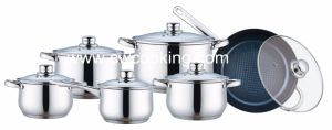 12PCS Cookware Set with Hollow Handle pictures & photos