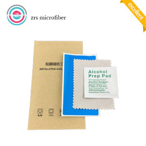 Wholesales 6*6cm Wet Dry Non-Woven Cleaning Cloth OEM