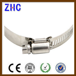 American German Type Stainless Steel Wing Nut Hose Clamp pictures & photos