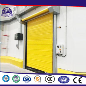 China Factory Promotional Practicability Rapid Closing PVC Roller Shutter pictures & photos