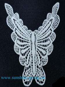 Fashion Design Embroidery Lace Cotton Patterns Neck Collar-039 pictures & photos