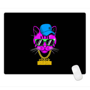 Fashion Style Black Anti-Slip Computer PC Rubber Game Mouse Pad Mat pictures & photos