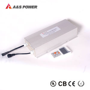 60ah LED Solar Street Light System IP66 Waterproof 12V Lithium Battery pictures & photos
