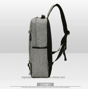 New Fashion Leisure Men′s Bag Laptop Bag Canvas Student School Bags pictures & photos