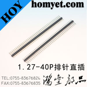 2.54mm Pitch Right-Angle Pin Header Breakaway Header with Reel Packing (HY-25404W-D1) pictures & photos