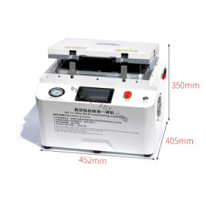 LCD Screen Oca Laminating Machine 2 in 1 Laminating and Bubble Remore Machine pictures & photos