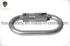 High Security O Shaped Climbing Metal Carabiner pictures & photos