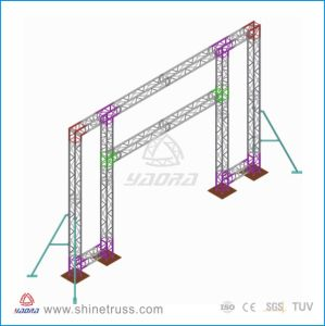 Stage Furniture, Aluminum Background Truss for Celebration Performance pictures & photos
