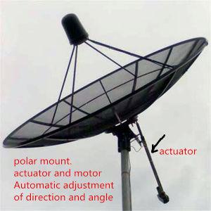 Polar Mount 12 Feet 3.7m 120/150 C Band Satellite Aluminium Mesh Dish Outdoor Parabolic Antenna pictures & photos