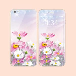 High Quality Colorful Tempered Glass Both Sides Screen Protector for iPhone6/6s Plus in Stock pictures & photos