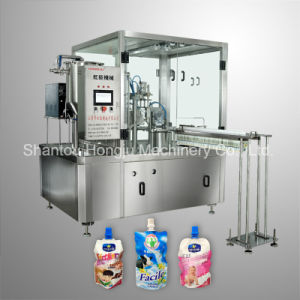 Milk Filling Machine for Spouted Pouch pictures & photos