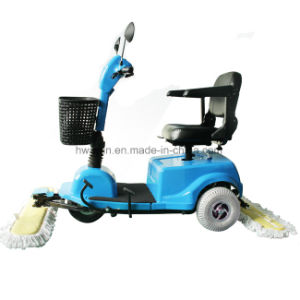 Long Working Time Electric Ride on Dust Cart pictures & photos