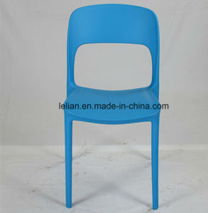 Moulded PP Plastic Dining Chair, Outdoor Side Chair (LL-0063) pictures & photos
