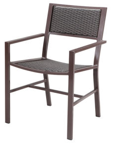 Outdoor Rattan/Wicker Chair in Aluminum Frame (LN-8003) pictures & photos