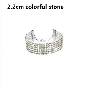 Fashion Ladies Sparkly Bling Full Crystal Rhinestone Bracelet Bangle for Women Bride Wedding pictures & photos