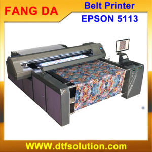 1.6m Cotton Textile Printer High Resolution 1440dpi Fast Speed pictures & photos