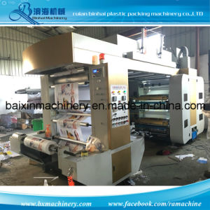 Belt Control Chamber Doctor Blade Flexo Printing Machine pictures & photos