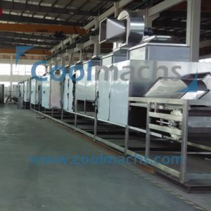French Fries/Potato Strip/Vegetable Hot Air Drying Machine Hot Air Dryer pictures & photos
