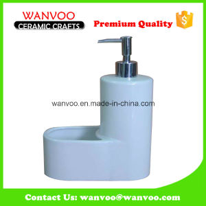 Excellent Quality White Ceramic Liquid Soap Dispenser pictures & photos