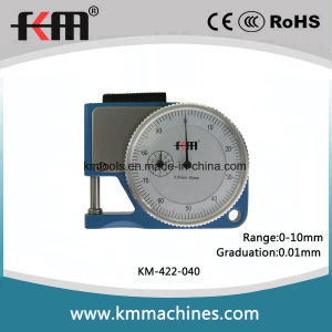 0-10mm Small Throat Dial Thickness Gages with 0.01mm Graduation pictures & photos