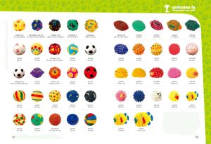 Dog Toy Vinyl Ball with Spots Pet Products pictures & photos