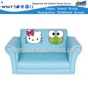 Children Furniture Cartoon Type Double Seat Sofa (HF-09903) pictures & photos