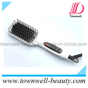 Fast Hair Straightening Brush Iron with Mch Heater pictures & photos