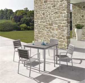 Garden Contemporary Polywood Dining Table and Chair
