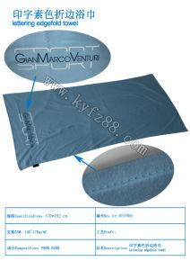 Soild Microfiber Beach Towel with Printing Logo