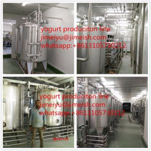Frozen Yogurt Machine Prices Shanghai Jimei Yogurt Filling Machine Mini Milk Yogurt Production Line pictures & photos