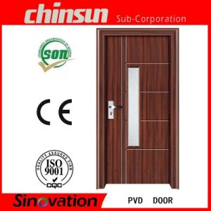 New Design PVC Door with Glass pictures & photos