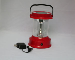Outdoor Portable Solar LED Rechargeable Camping Lantern Lamp pictures & photos