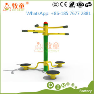 Outdoor Fitness Equipment - 3 Pad Stretch Pole Fitness Machine pictures & photos