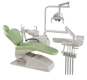 Dental Unit Chair Soft Leather Company Controlled Integral FDA Ce pictures & photos