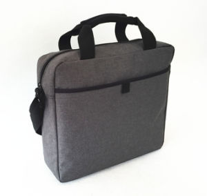 Hot Sale Two Tone Material Document Business Laptop Bag pictures & photos