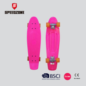 "Speedzone 28"" Single Kick Tail Plastic Skateboard pictures & photos"
