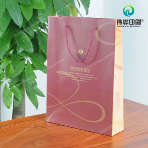 Nylon Ropes Art Paper Printing Packaging Gift Bag pictures & photos