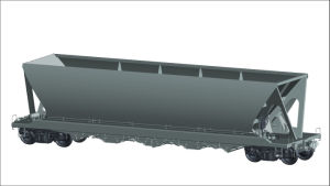 Depressed Center Flat Wagon for Heavy Goods pictures & photos