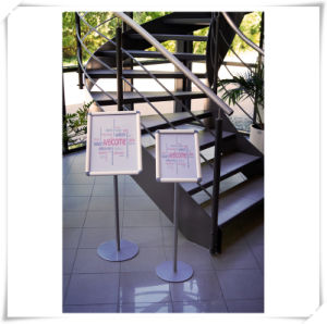 A4 Office & Hotal Display Stand Literature Holder with Snapframe pictures & photos