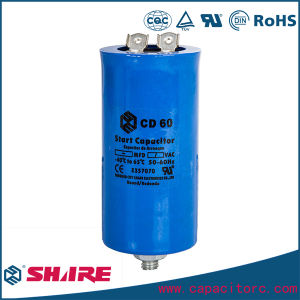 CD60 Bakelite Motor Start Capacitor pictures & photos