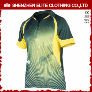 Latest Good Price Full Printing Quick Dry Cricket Jersey (ELTCJI-36) pictures & photos